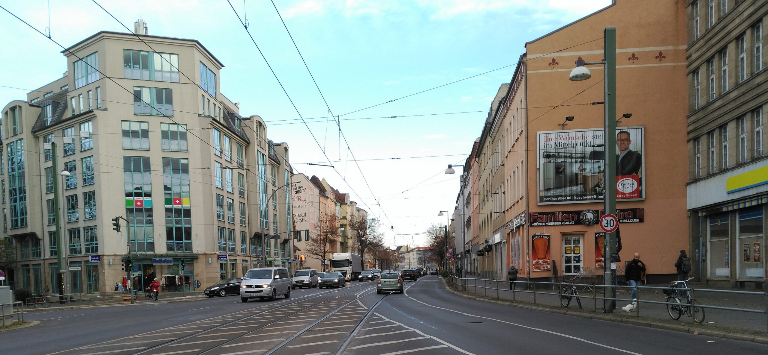 Foto Engstelle Berliner Allee